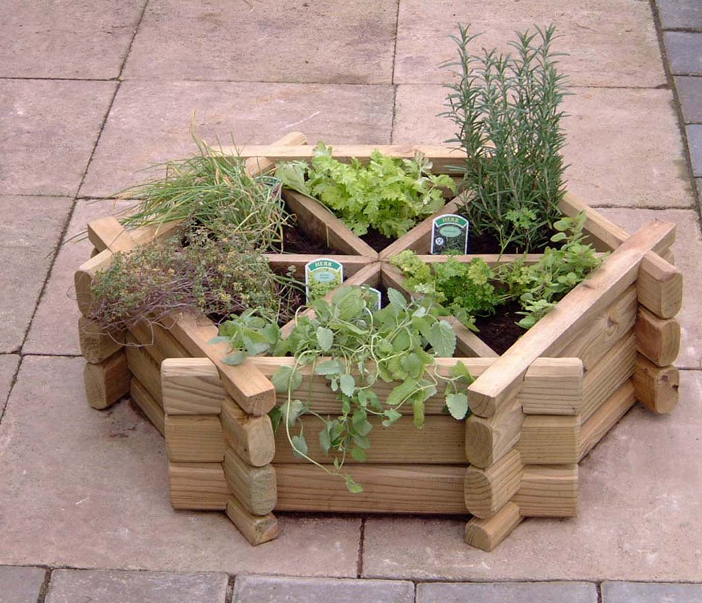 Creative Outdoor Planters
