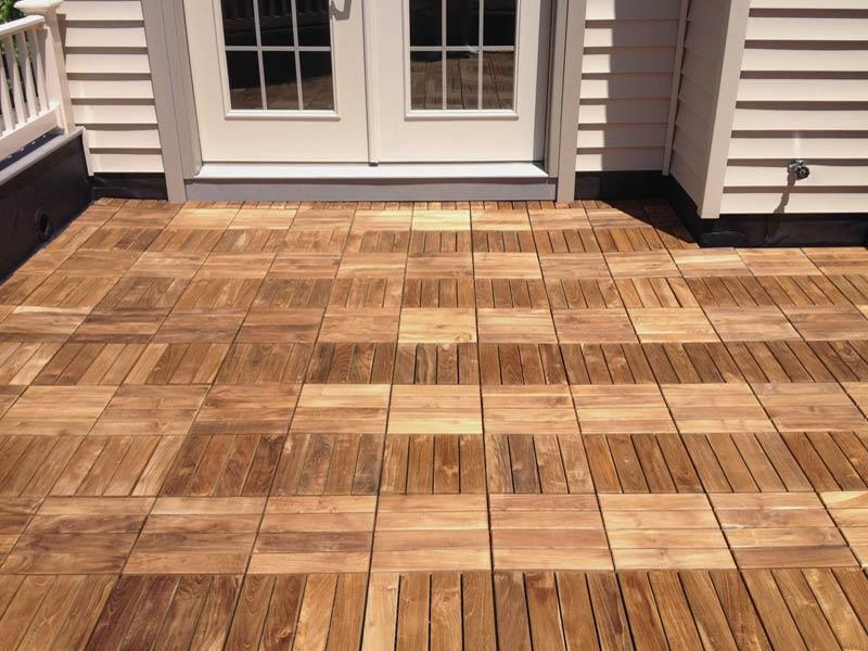 Deck Tiles Ideas Picture