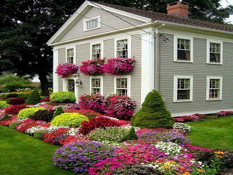 Flower Garden Ideas Full Flowers