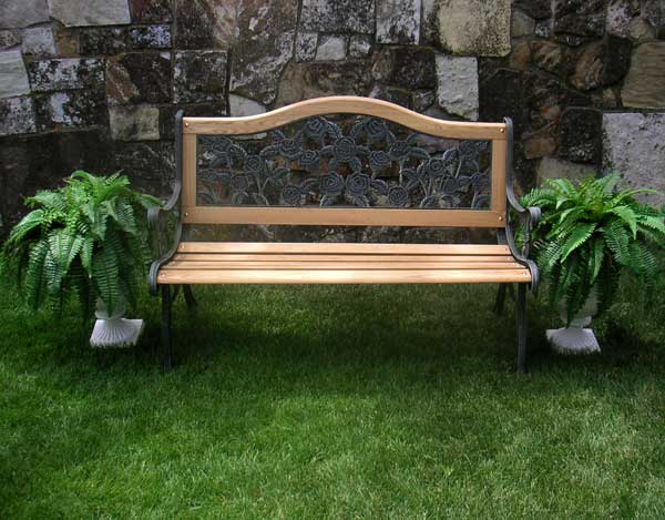 Garden Bench Design Ideas