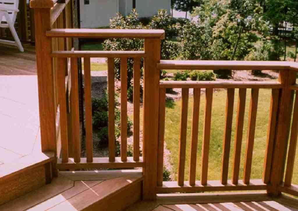 Hardwood Deck Balusters Designs Ideas