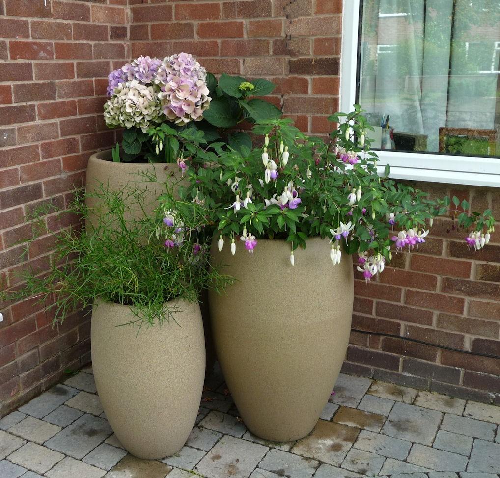 Modern Outdoor Planters