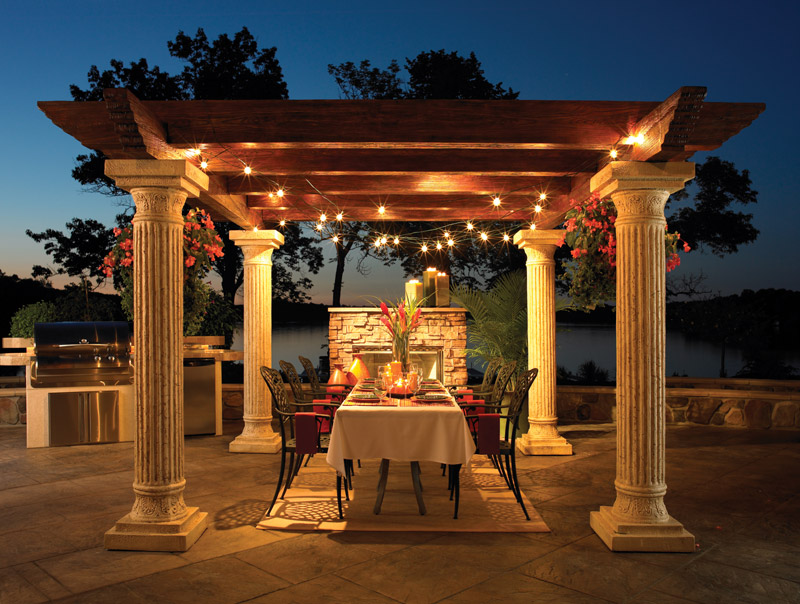 Outdoor Rooms Lighting