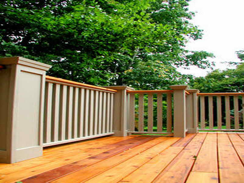 Photos Of The Deck Railing Designs