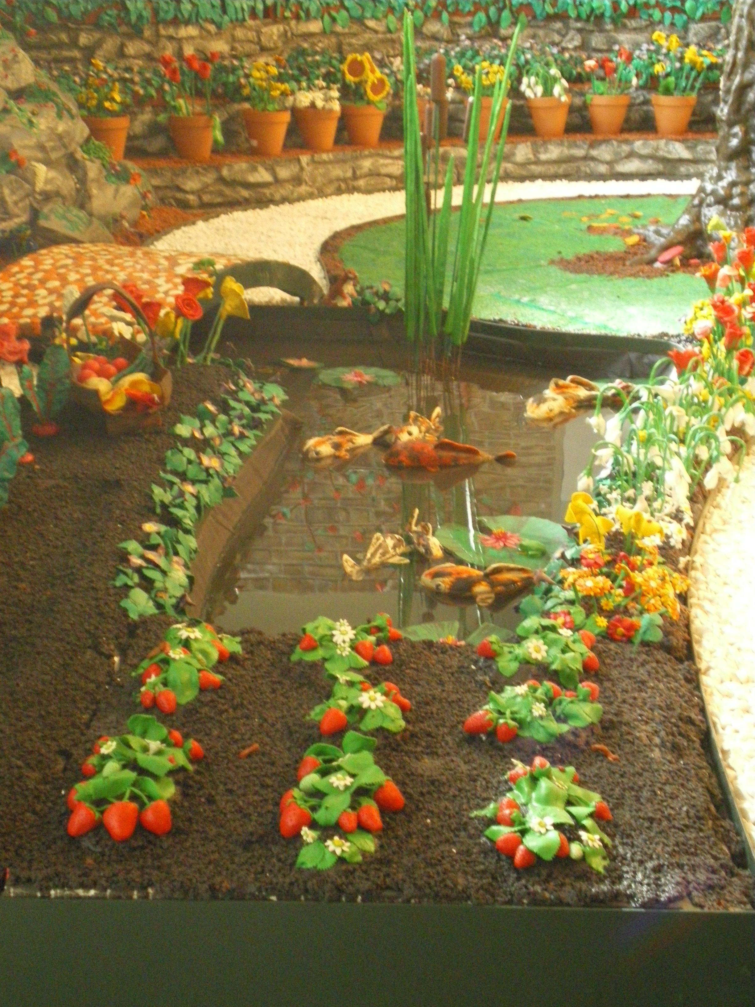 Plasticine Fruit Garden