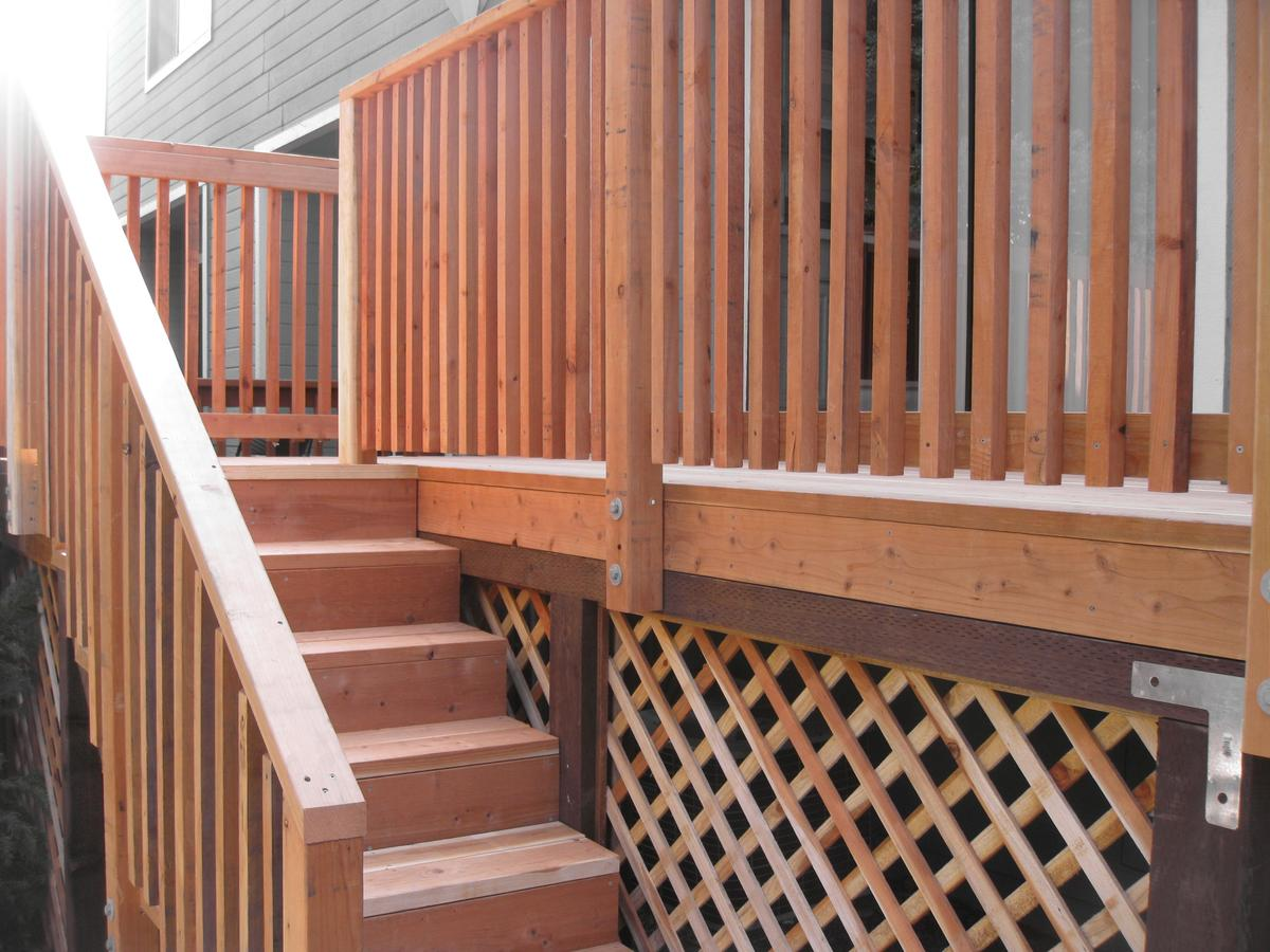 Stairs Design Deck Balusters