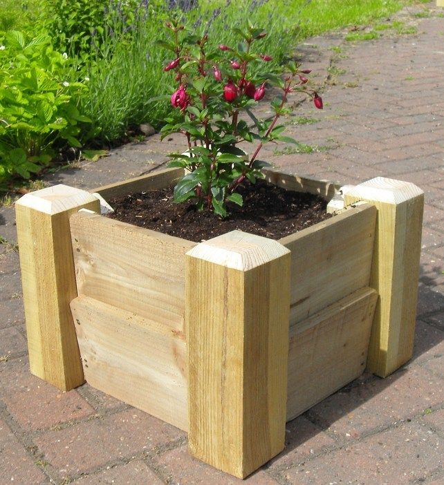 The Wooden Planters