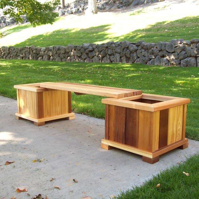 Wood Country Wooden Planters