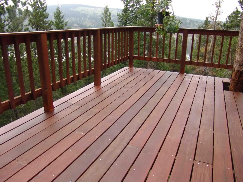 Wood Deck Railing Balusters