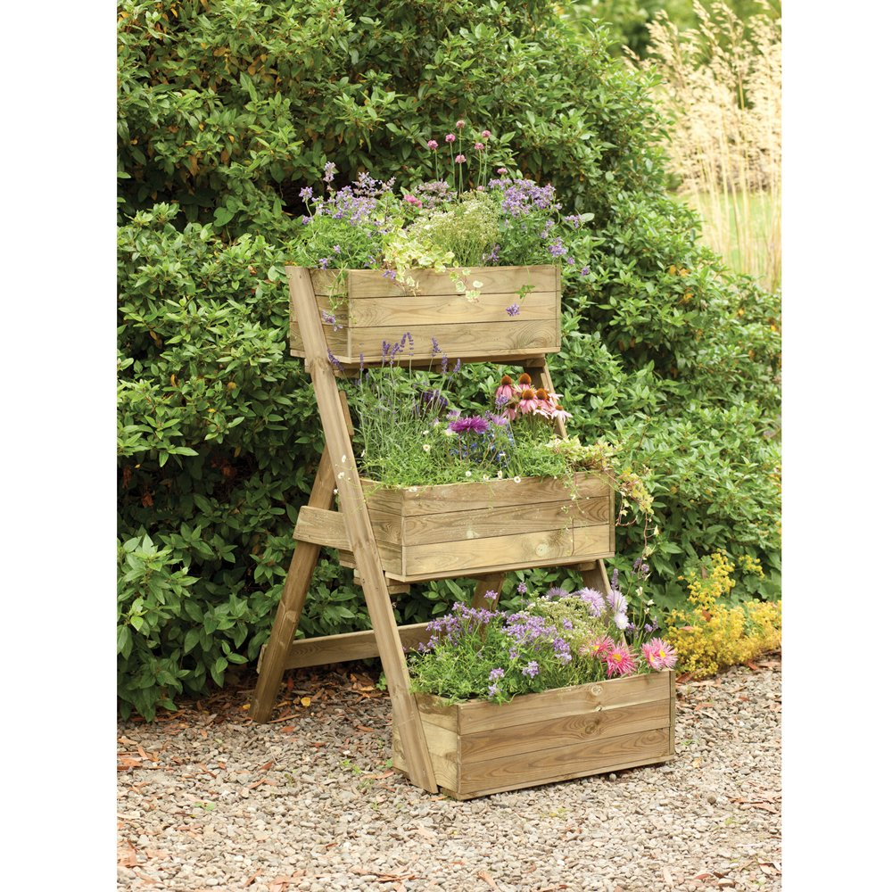Wooden Outdoor Planters