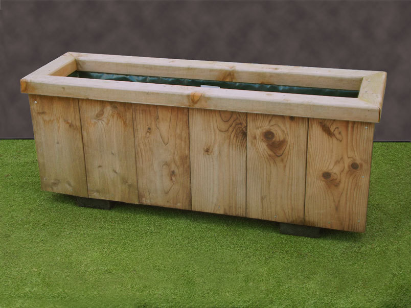 Wooden Planters Narrow