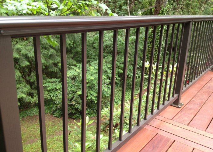 Aluminum Deck Railing Elegant