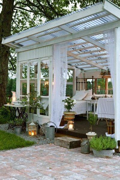 Awesome Backyard Greenhouse