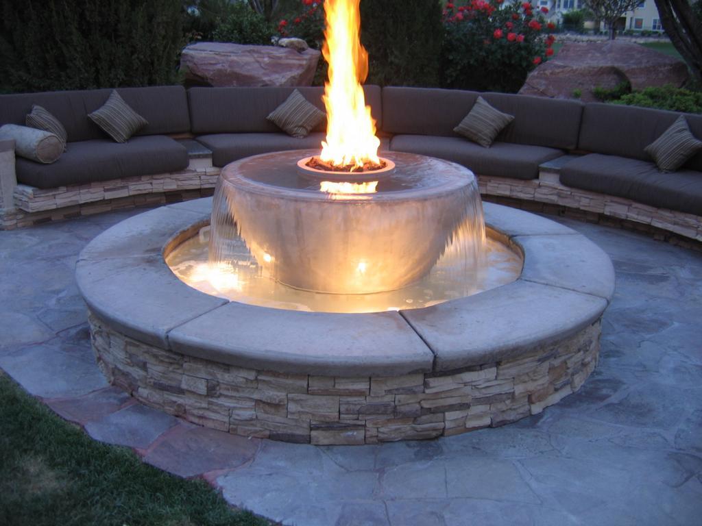 Backyard Fire Pit Ideas Photos