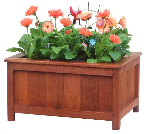 Beautiful Wood Planter Box