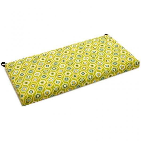 Blazing Needles 42 Inch Outdoor Bench Cushion