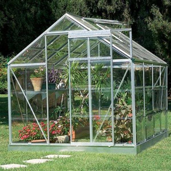 Build Backyard Greenhouse