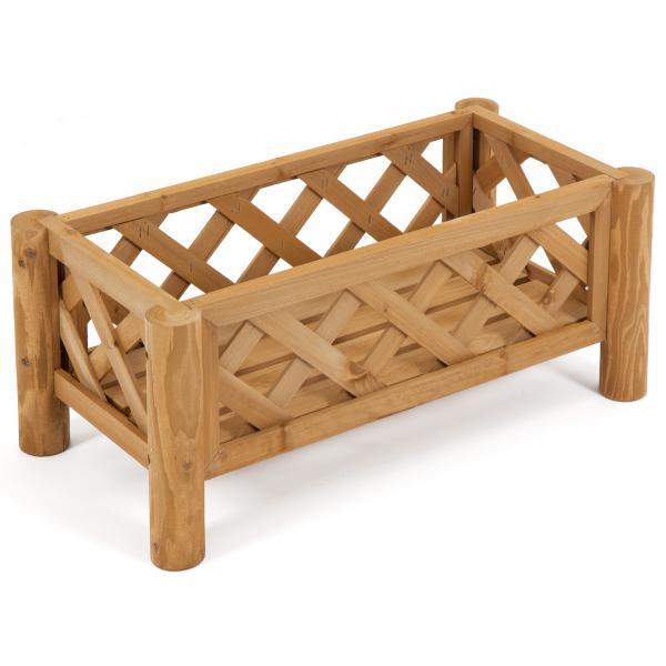 New Wood Planter Box