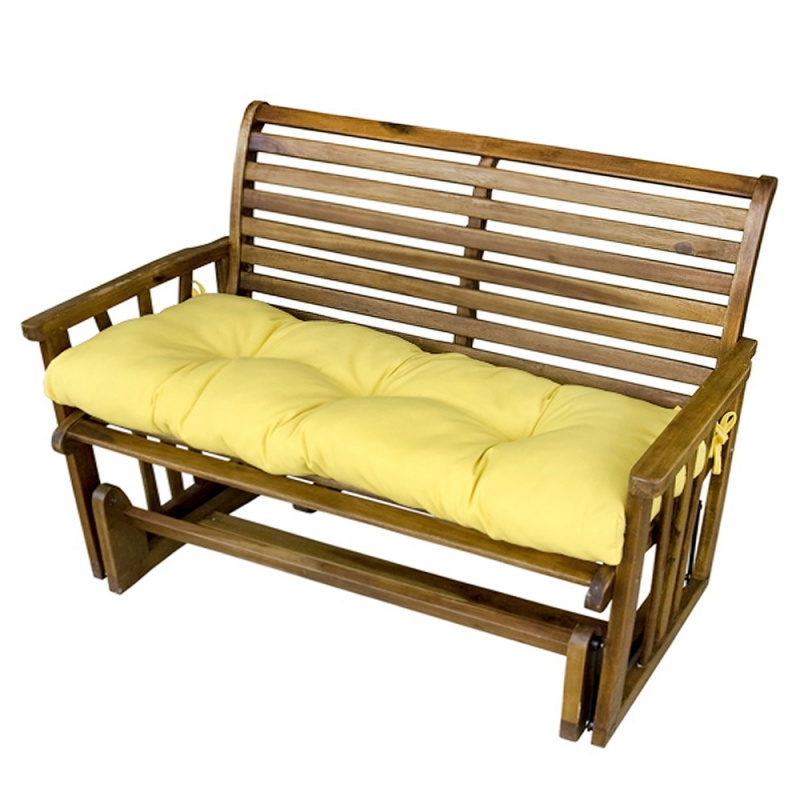 Outdoor Curved Bench Cushion