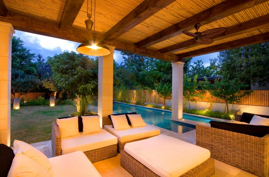 Porch Design Bamboo Blinds For Outdoor