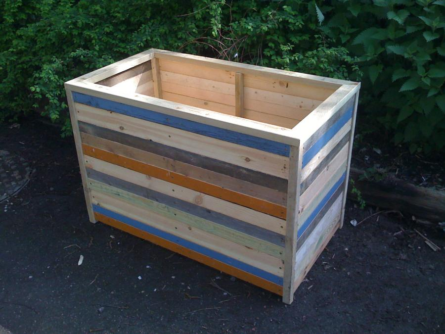 Recycle Wooden Planter Boxes