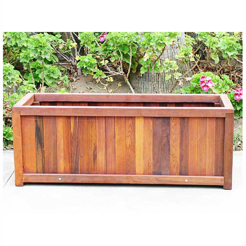 Simple Wooden Planter Boxes
