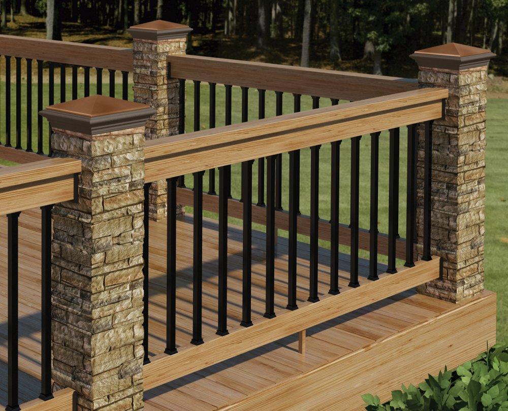 DIY Metal Deck Railing — Rickyhil Outdoor Ideas