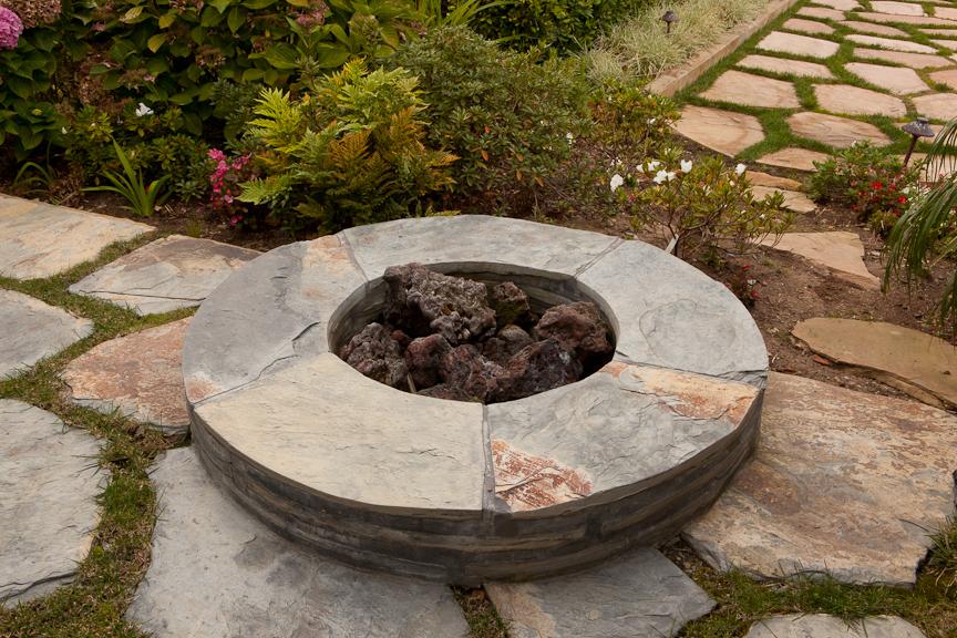 Traditional Backyard Fire Pit