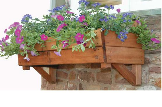 Wood Planter Box Picture