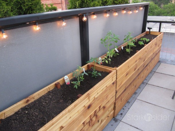 Wooden Planter Boxes Decoration