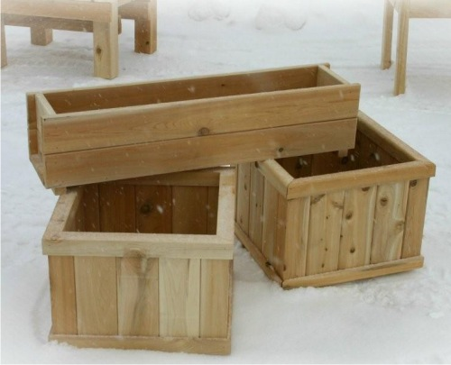 Wooden Planter Boxes Ideas