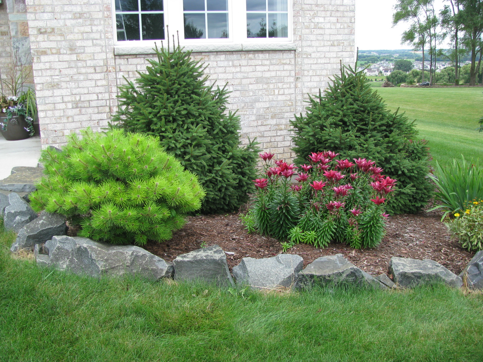 Borders For Flower Beds Plan