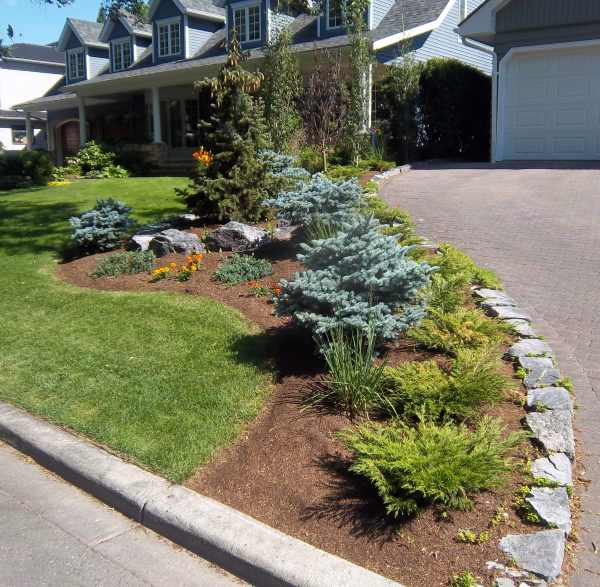 Borders For Flower Beds With Stone
