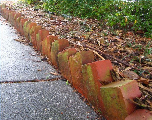 Brick Landscape Edging