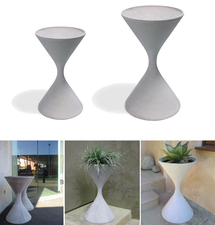 Color White Modern Planters Image