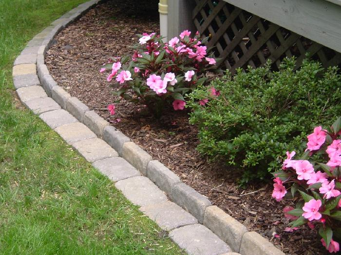 Front Yard Borders For Flower Beds