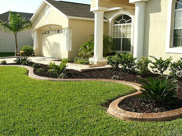 Landscaping Flower Bed Edging Ideas