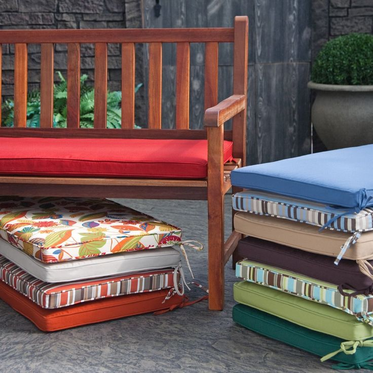 Outdoor Cushions For Diy Bench