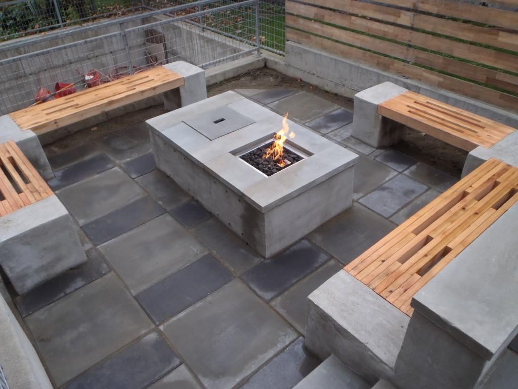 Modern Fire Pit In Design