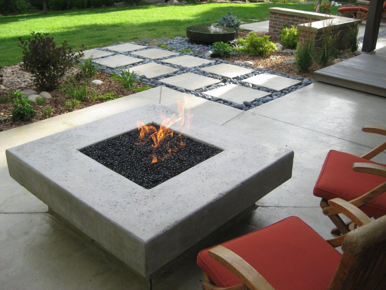 Modern Fire Pit Style