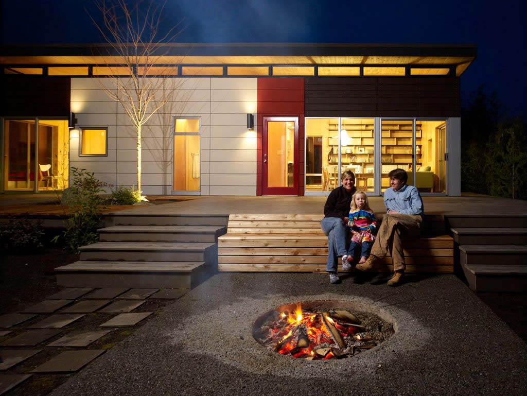 Outdoor Modern Fire Pit