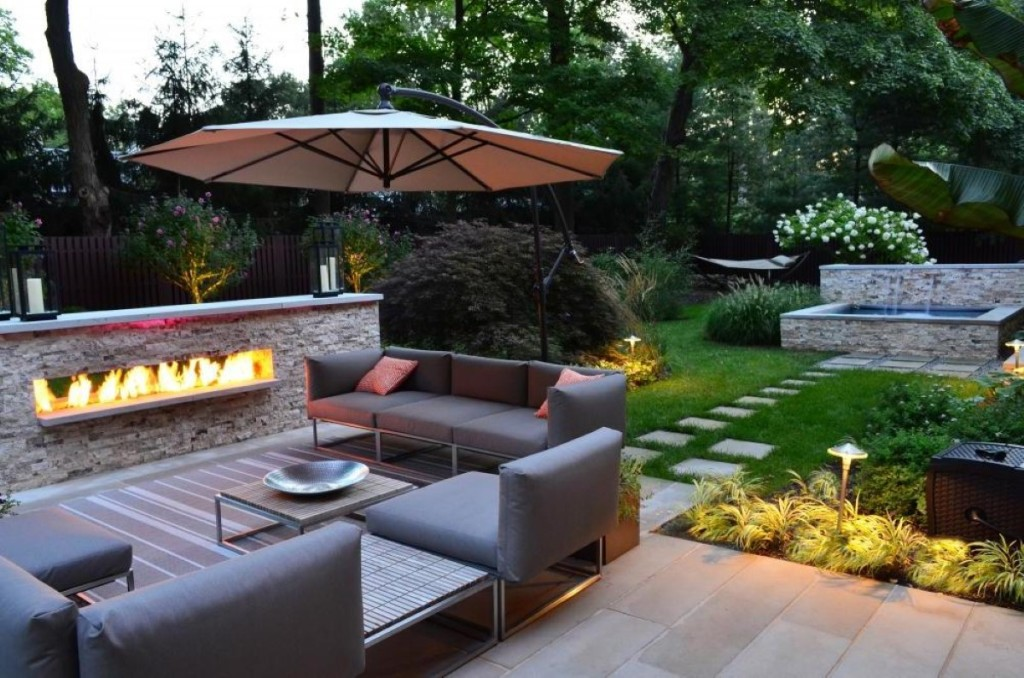 Simple Modern Fire Pit