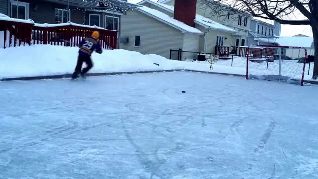 Backyard ice rink rickyhil outdoor ideas - Swimming pool basketball hoop costco ...