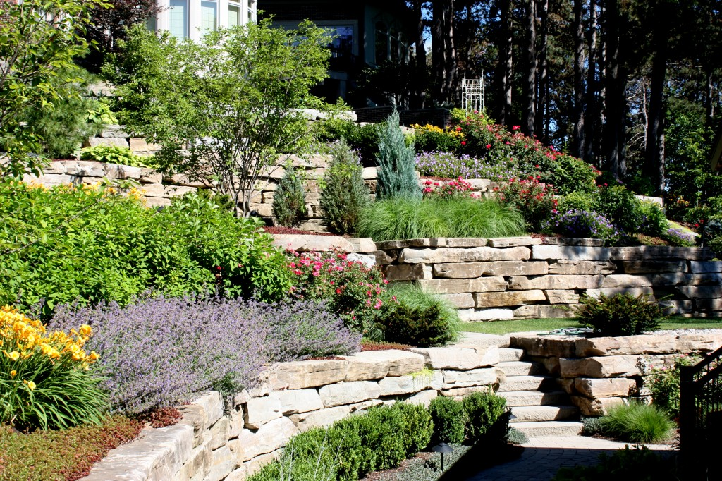 Best Landscaping Ideas Front Yard Hill Rickyhil Outdoor Ideas