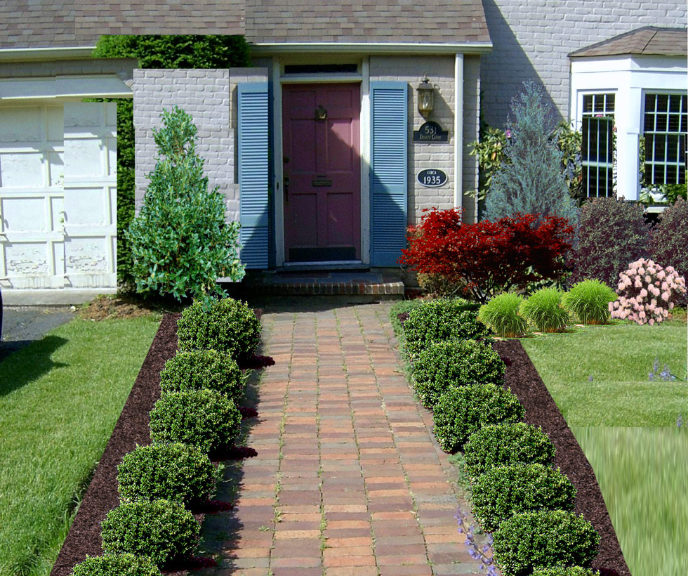 Great Landscape Ideas For Front Yard With Flower