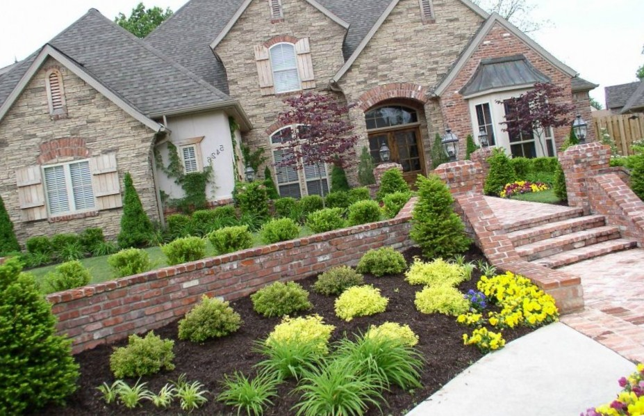 Landscaping Ideas Front Yard Hill Plan Rickyhil Outdoor Ideas