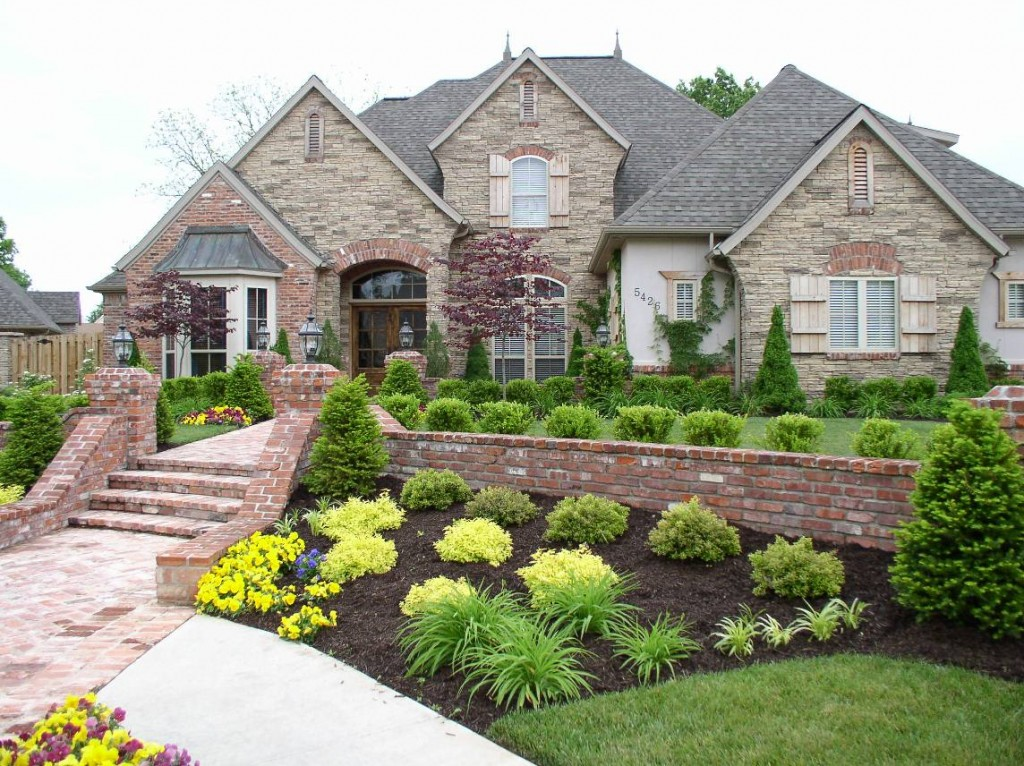 Steep Hill Landscape Ideas Landscaping A Steep Front Yard Front Yard