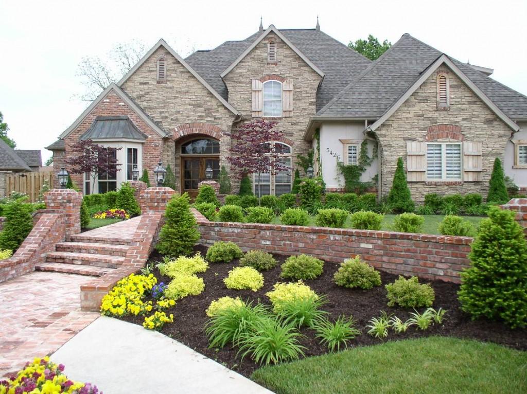 Landscaping Ideas Front Yard Hill — Rickyhil Outdoor Ideas on Hill Backyard Ideas id=98354