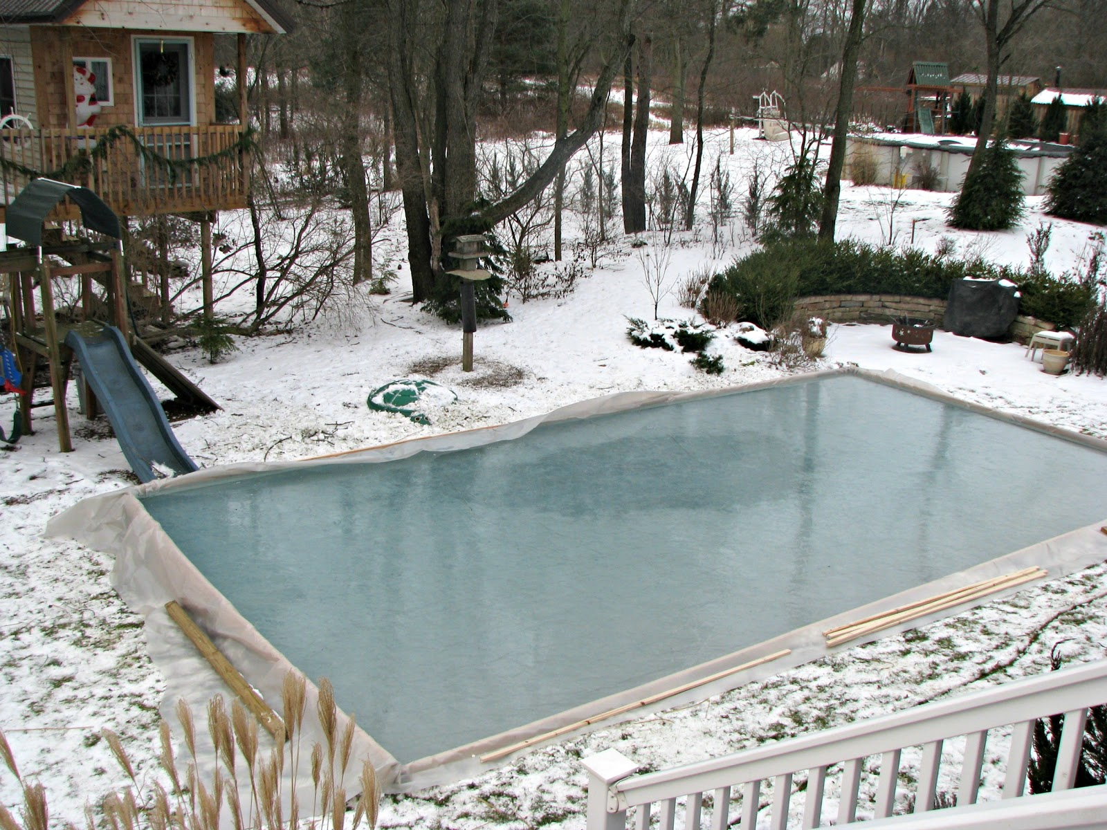 Simple Backyard Ice Rink : Rickyhil Outdoor Ideas ...