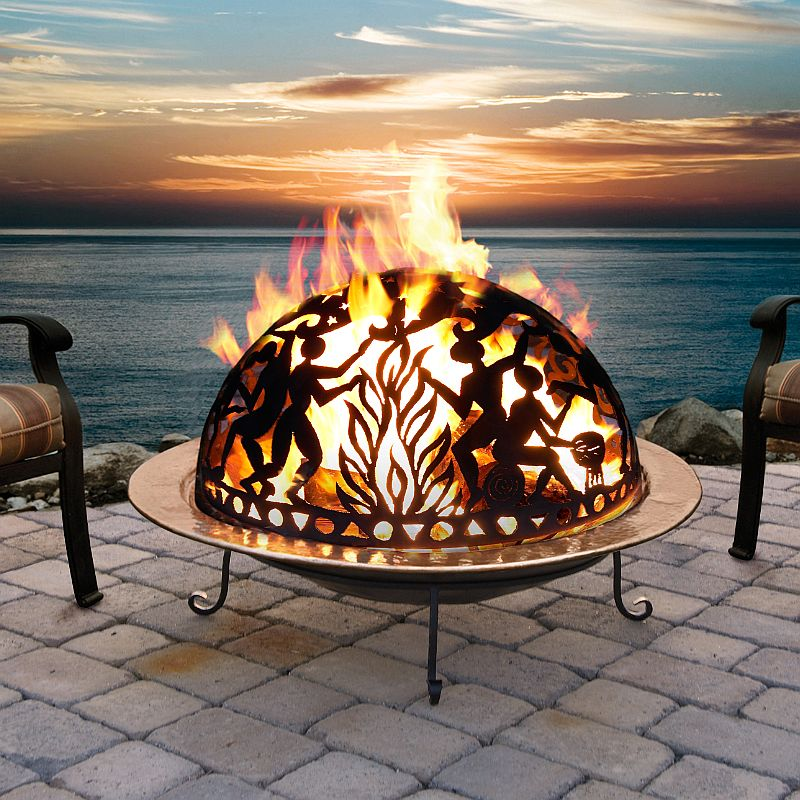 Alluring Copper Fire Pit